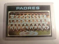 1971 Topps #482 San Diego Padres Team Card ExMt.
