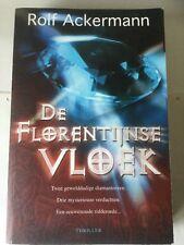 De Florentijnse Vloek - ROLF ACKERMAN - 2006 - KARAKTER UITGEVERS