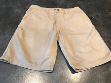 Men's Toad & Co Khaki Flat Front Chino Bermuda Shorts Size 32