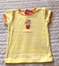 NWT Gymboree Spring Flowerpot Blooms yellow cotton Tee Top Girls Toddlers 3