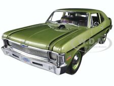 1970 CHEVROLET NOVA YENKO DEUCE CITRUS GREEN LTD ED 600PCS 1/18 CAR BY GMP 18831
