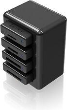 Lexar Professional Workflow HR1 Four-Bay USB 3.0 Reader Hub LRWHR1RBNA