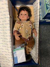 Monika Levenig Künstlerpuppe Vinyl Puppe 62 cm. Top Zustand