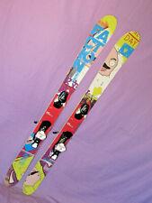 Faction Dillenger XL jr kid's Freeride skis 145cm w/ Salomon L7 youth bindings ~