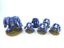 Cybot - Dreadnought + 5 x Terminator - Terminatoren der Space Marines - bemalt -
