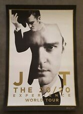 JUSTIN TIMBERLAKE THE 20/20 EXPERIENCE WORLD TOUR CONCERT POSTER 13x19 #d /12000