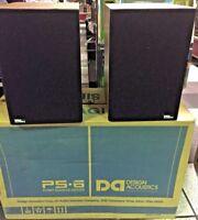 Design Acoustics PS-6 Speakers PAIR BRAND NEW IN BOX!!! RARE VINTAGE!