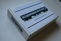 HORNBY Coach BR Mk 2. 00 Gauge Coach storage Box Inter City Blue & Grey.