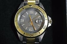 $275 CROTON WATCH CA301252 RUNS! Great looking with beautiful crystalW/ day