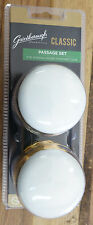 Gainsborough Classic Door Knob Handle Bright Gold Whitehall Replacement