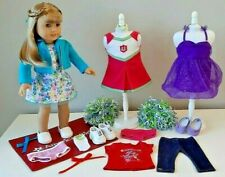 American Girl Doll, Blonde, TRULY ME ~ 4 outfits  20+ Pieces ~ GREAT!