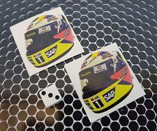 X 2 Juan Pablo accroche tête casquée Stickers formula 1 f1