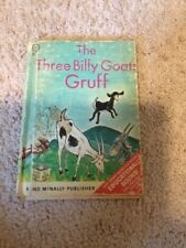 Vintage The Three Billy Goats Gruff Book By Rand McNally