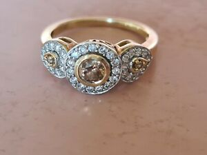 Gold rings auction