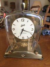 Schatz & Sohne Art Deco Mantle Clock Bauhaus Germany