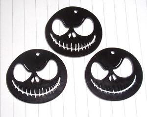 Halloween Nightmare Before christmas Jack  charms pendants x 3 kitsch Kawaii