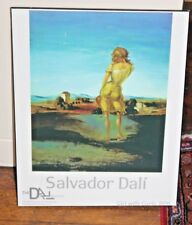 Salvador Dali 1926 Girl with Curls Exhibition  Museum Poster from The Dal Museum