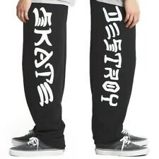 *New* Thrasher Skate & Destroy Sweatpants Lg Large Black *100% Authentic*