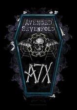 "AVENGED SEVENFOLD AUFKLEBER / STICKER # 13 ""COFFIN"""