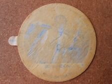 "1954 Dixie Lid Sid Gordon Pittsburgh Pirates 2.7"" Euclid Race orig wax paper"