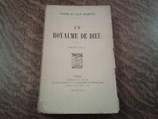 un royaume de dieu - jerome et jean tharaud (1920)