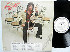 FREDDY WELLER one man show WHITE LABEL PROMO pressing + timing strip sticker LP