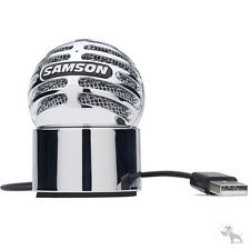 Samson Meteorite USB Condenser Podcast Skype YouTube Recording Mic Microphone