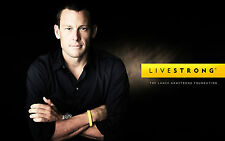 LANCE ARMSTRONG LIVESTRONG FOUNDATION RARE POSTER