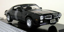 Motormax 1/24 Scale - 1973 Pontiac Firebird Trans Am Black Diecast model car