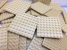 LEGO 41539 - NEW 8x8 Light Beige Tan Brown Base Plates - 2 Per Order
