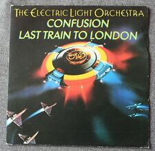 Electric Light Orchestra - ELO, confusion / last train to London, SP - 45 tours