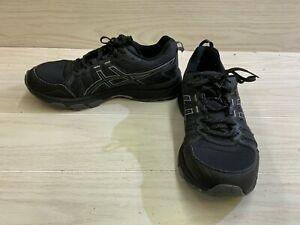 ASICS GEL-Venture 7 1011A561 Running Shoe - Men's Size 10 EW, Black