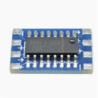 10pcs MCU mini RS232 MAX3232 to TTL Level Pinboard Converter Board