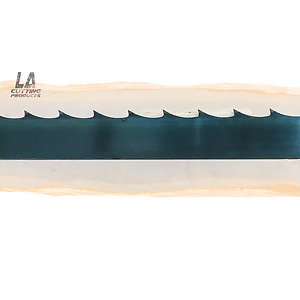 "144"" (12') x 1.25"" x .042"" x 7/8 GT Carbon Steel Wood Mill Band Saw Blade"