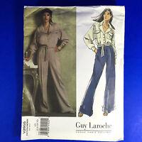 Vogue Patterns Paris Original V2955 Guy Laroche AA 6 8 10 12 Jacket Pants Uncut
