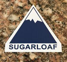 Sugarloaf Ski Sticker - Skiing Snowboarding Maine Resort Snow Burton