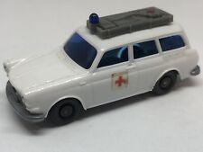 Wiking HO 1/87 Volkswagen 1600 Red Cross Ambulance - Vintage