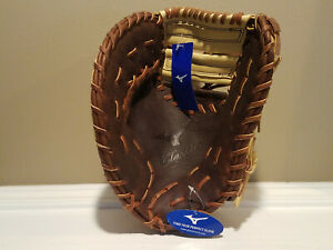 "Mizuno Classic First Base Left Handed Throw Glove Mitt 12.5"" NEW NWT * GXF28S3"