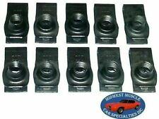NOSR GM Body Fender Frame Grille Valance 5/16-18 Bolt U Clip Panel J Nut 10pcs G