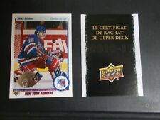 Mike Richter 2010-11 10-11 Upper Deck Series One French Buyback!