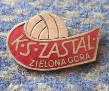 ZASTAL ZIELONA GORA BASKETBALL POLAND CLUB 1970's PIN BADGE