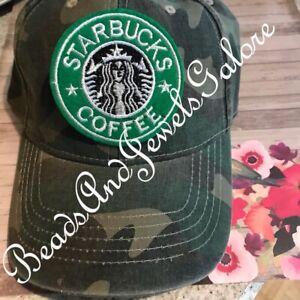 Starbucks hat inspired Starbucks baseball hat Starbucks adjustable Choose color