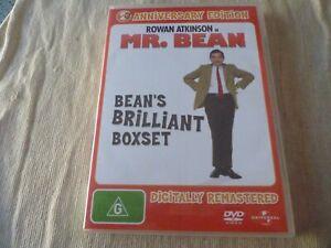 Mr. Bean Bean's Brilliant Boxset (4x DVD, 2010) Region 4  Rowan Atkinson
