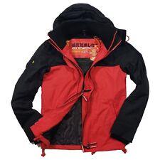 Superdry Flash Red/Black CNY Tech Hood Pop Windcheater Jacket Limited Edition!