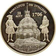 L6377 France 1 1/2 € euros Monuments Invalides Louis XIV 2006 BE PP PF Argent