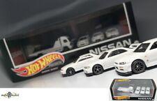 Nissan Skyline GT-R 32 33 34 Premium Set Diorama Giftbox 2021 1:64 Hot wheels