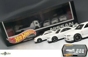 Nissan Skyline GT-R 32 33 34 Premium Set Diorama Giftbox 2021 1:64 Hot wheels