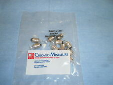 Chicago Miniature Lamp # 222 Qty (10) Pack Sealed >