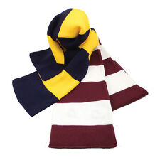 Women's Soft Comfortable  Warm Winter Long Stripe Acrylic Knitted Scarf