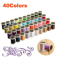 135D/2 40 Spools Sewing Overlock Embroidery Thread Knitting for Brother Machine